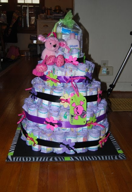 Crafty Kid All Grown Up Diaper Cake