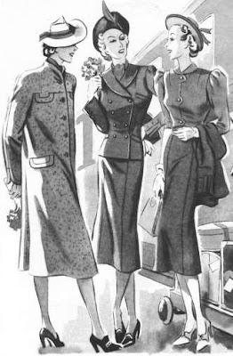 Historia de la moda:siglo XX décadas 01,10,20,30,40,50.(2)