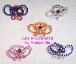 Butterfly Rings by Monica Ria