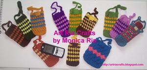 HP Pouch Crochet by Monica Ria