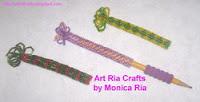 Pen / Pencil Wrap by Monica Ria