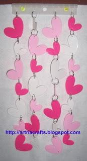 Hearts Curtain