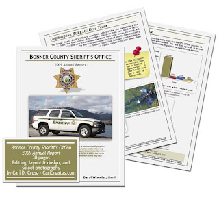 Bonner County Sheriff 2009 Annual Report
