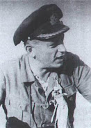 Capitão-tenente Harro Schacht, comandante do U-507