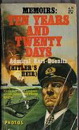 Capa do livro de memórias do almirante Karl Doenitz.