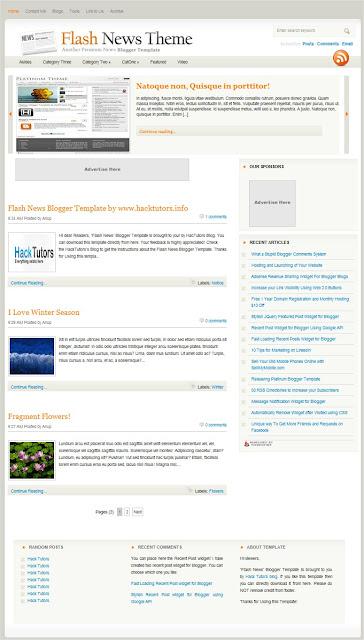 দুর্দান্ত ৫ টি SEO Friendly Blogger Templates! যা আপনার সাইট এ Visitor আনতে সাহায্য করবে।