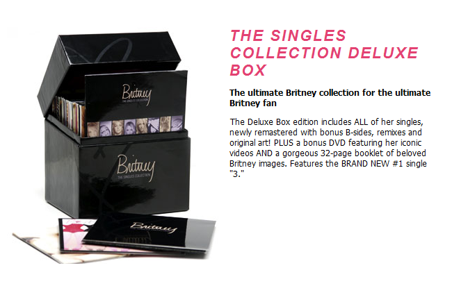 """My Britney Collection: Win """"The Singles Collection' Box ..."""