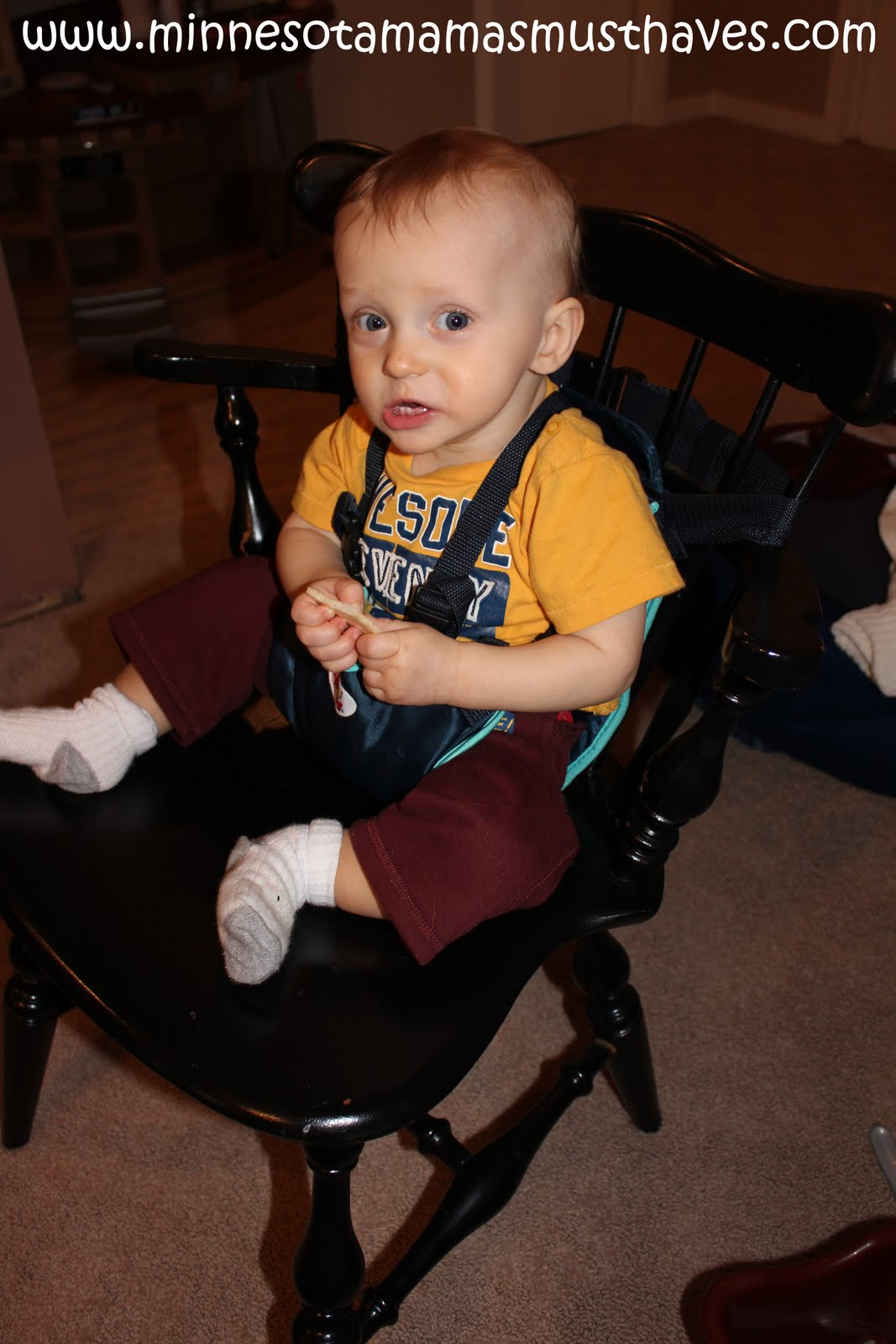 Snazzy Baby Travel Chair Review