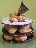recettes dessert  Mini gâteau au yaourt et coeur de chocolat