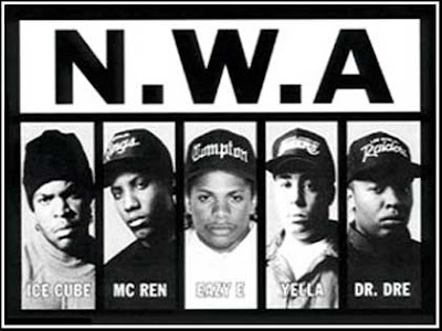 NWA, Dr.Dre, Snoop Dogg, Snoop Doggy Dog, Ice Cube, Eazy e, Mc Ren, Yella, 2Pac