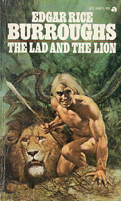 Edgar Rice Burroughs The Lad and the Lion paperback