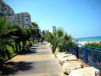променад море набережная бат-ям израиль