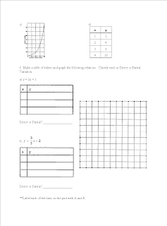 Grade 9 Applied Math: Practice Test