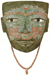 Máscara funeraria del periodo clásico de Teotihuacán