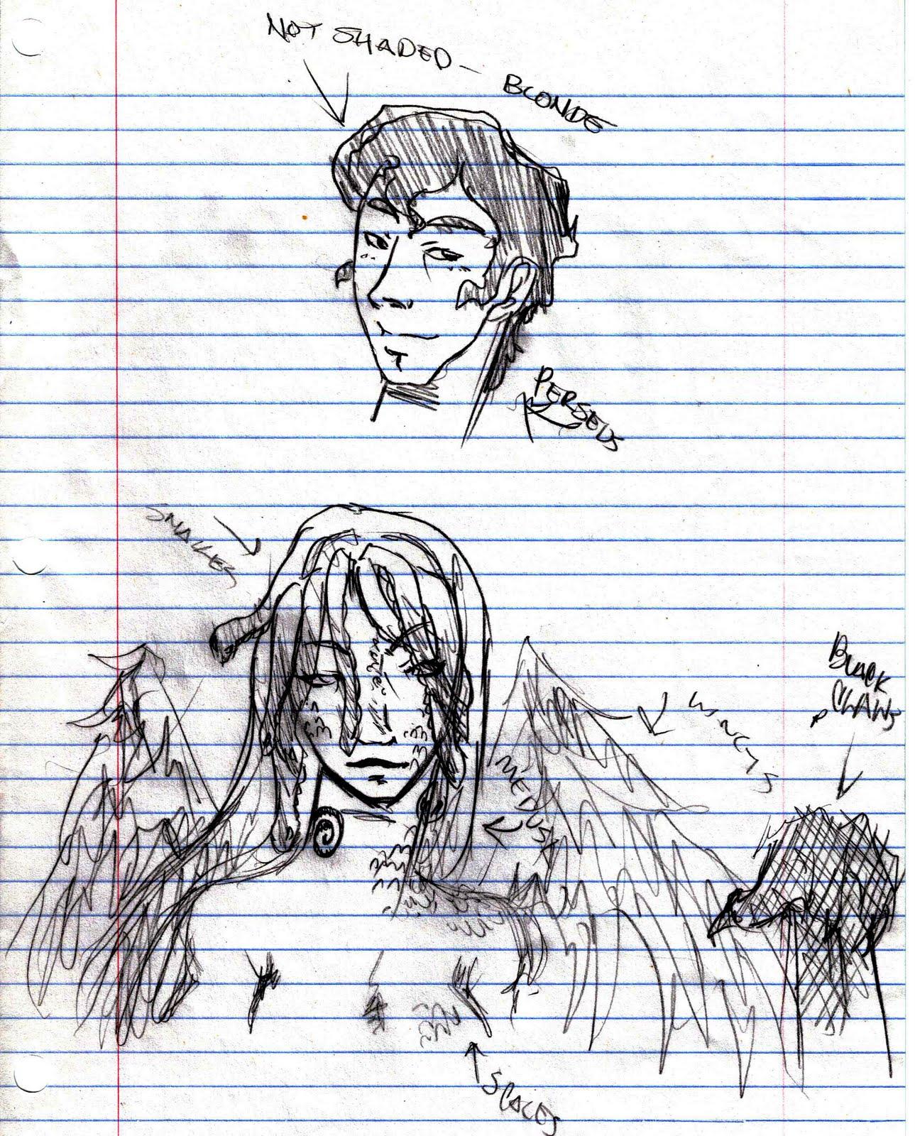 C K Cory S Sketchblog Medusa Vs Perseus