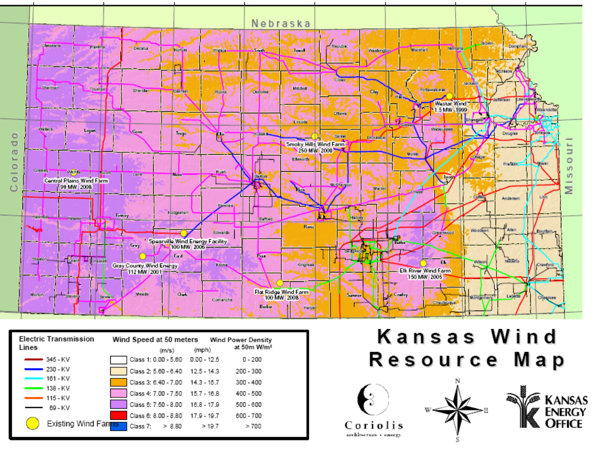 Newenergynews More Kansas County Opts For Big Wind