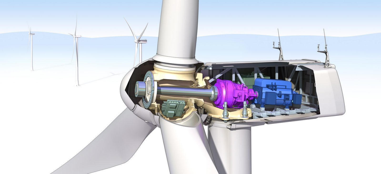 Newenergynews More Power Giant Builds Tex Wind Plant Diagram Also Generator Diagrams On Turbine Schematic Of The Alstom Nacelle Click To Enlarge