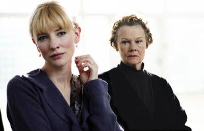 Judi Dench y Cate Blanchet en un magnífico duelo actoral
