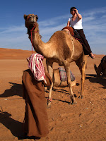 Camel ride - Sama desert camp