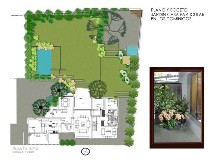 Vea jardines for Planos de jardines