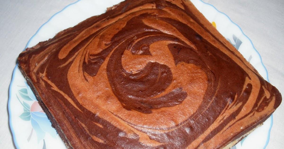 Chocolate Amp Vanilla Marble Cake