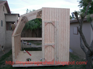 How To Build A Storage Shed Step 4 Build Storage Shed