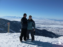Snowboarding at Snowbasin