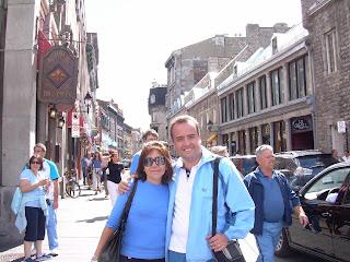 Apenas llegamos por las calles más antiguas de Montreal