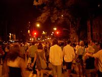 Desconcentración por las calles de Québec city