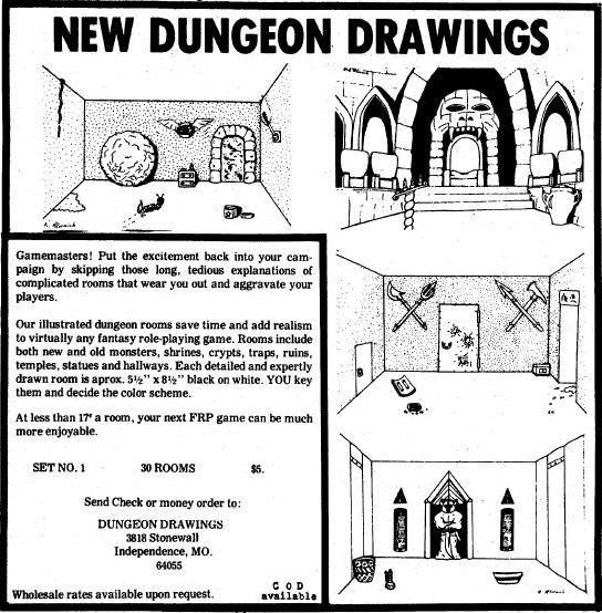 Sham's Grog 'n Blog: Dungeon Drawings