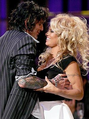 Pamela Anderson y Tommy de nuevo juntos