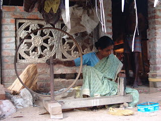 The Cycle wheel Charkha | A New Warp- Journey of textiles