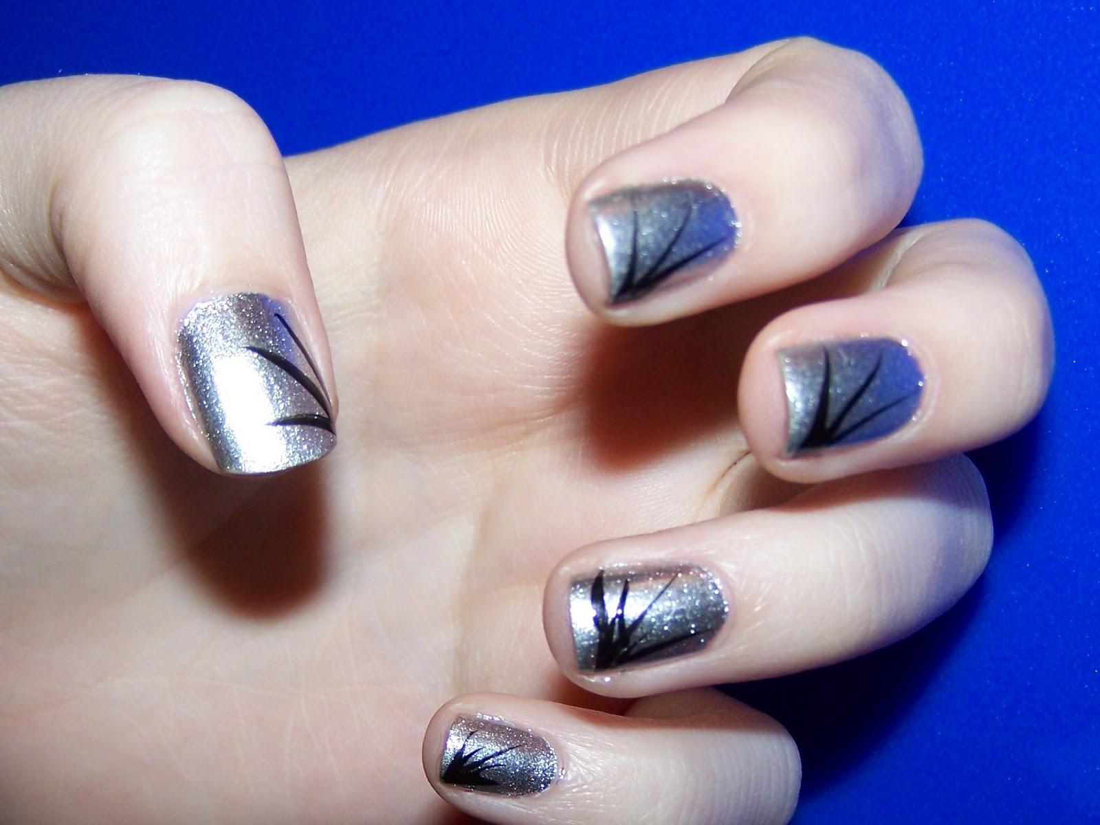 Simple Nail Art Line Designs