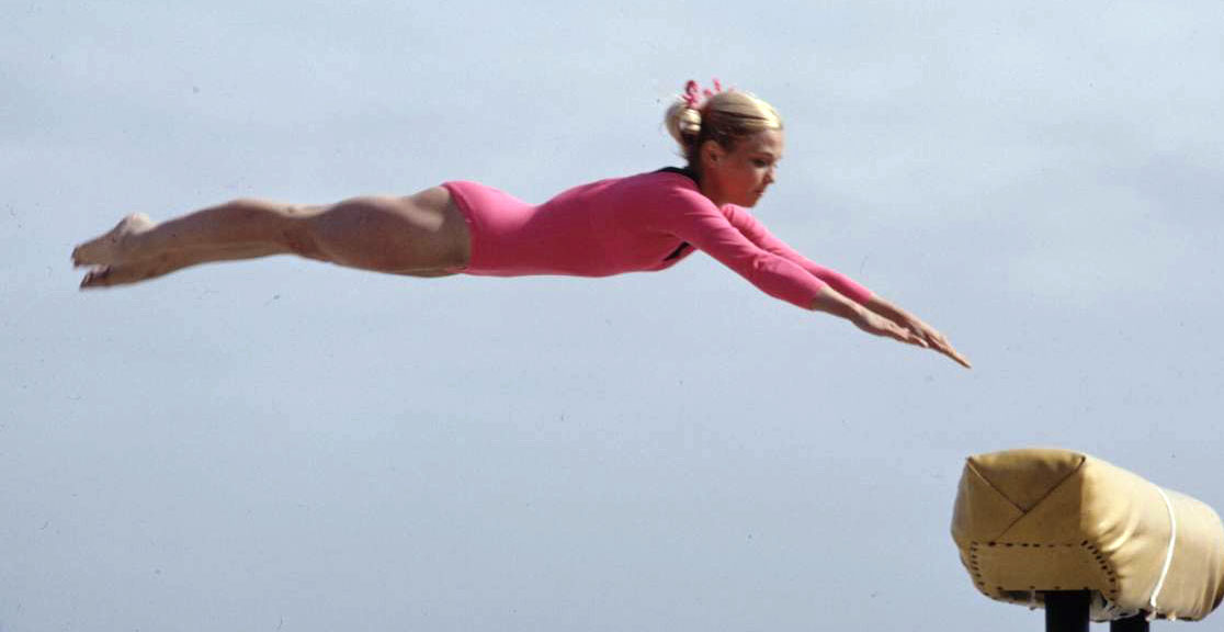 Cathy rigby balance beam nude