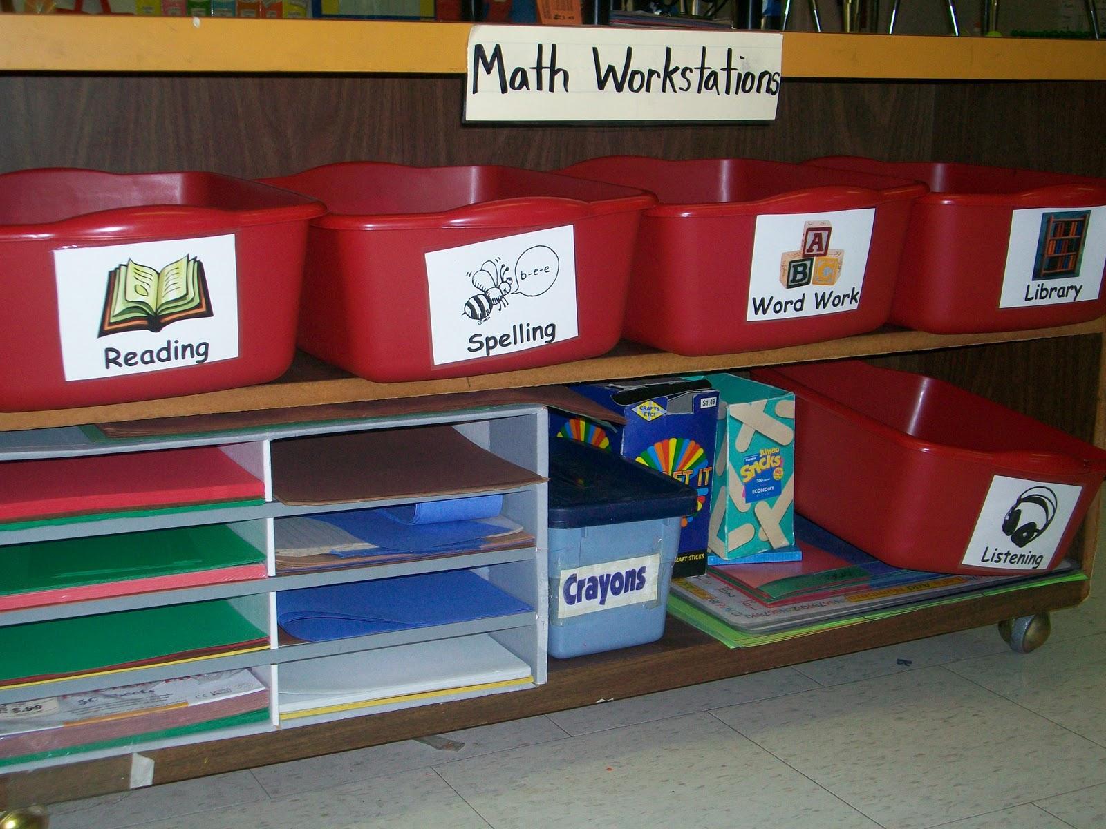 First Grade School Box January