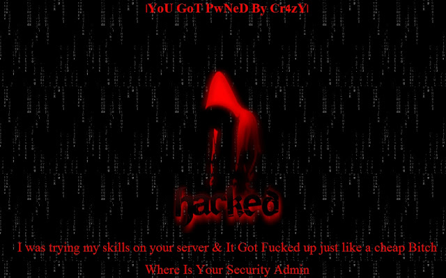 2 websites Defaced by PakCyberhaxors Crew Cr4zY