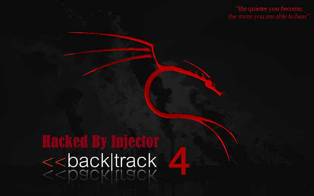 Wow ! Backtrack Official Website's Server Hacked By Team Injector (1337db) !