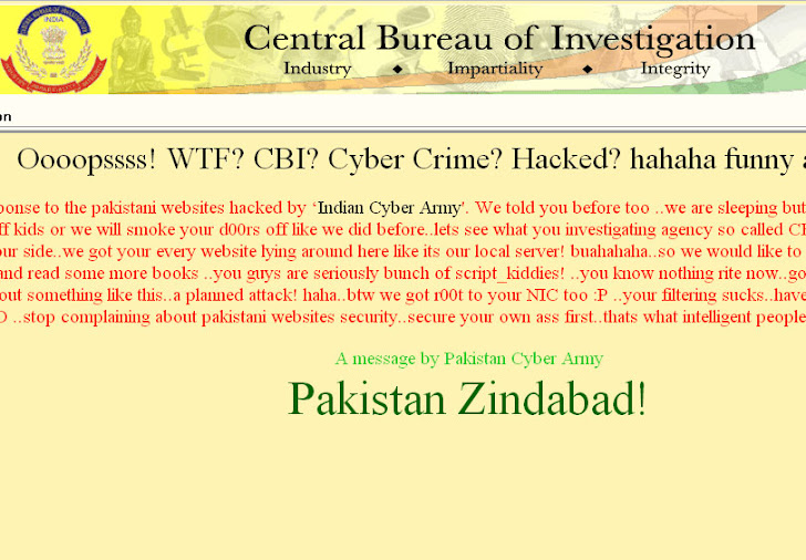 PCA hack CBI Through The Creation Of Proxy Server from Other Three