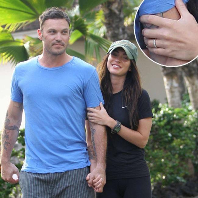 Gumgem Fun Forever: Megan Fox showing off Her Wedding Ring ...