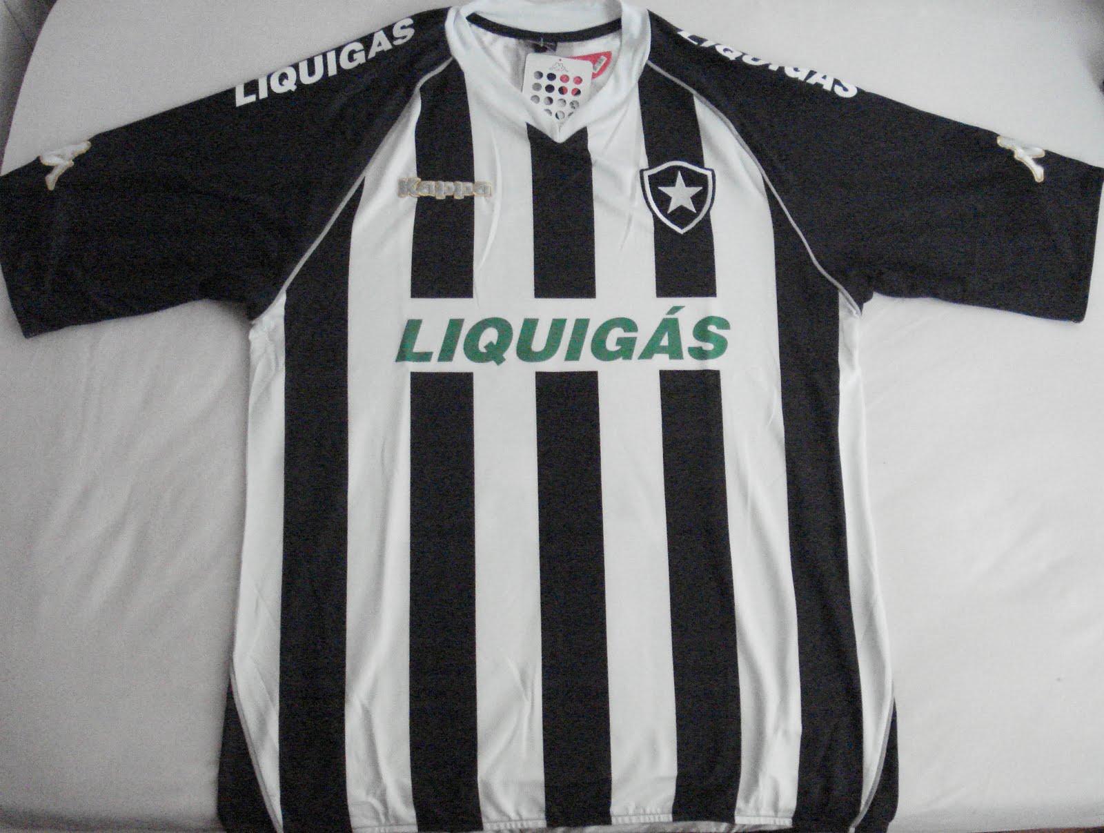 Camisas do Botafogo - 35 (Mais da Liquigás) 7c6d03692600e