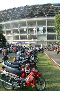 Ready for a quick exit from Gelora Bung Karno