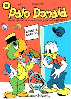 1º Edição HQ do Pato Donald   Raridade Baixar