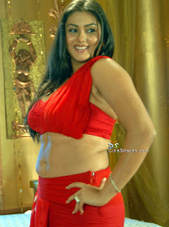 Namitha Hot In Red