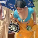 Mallu Aunty Hot Clevage Show In Saree