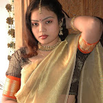 Navya In Half Saree