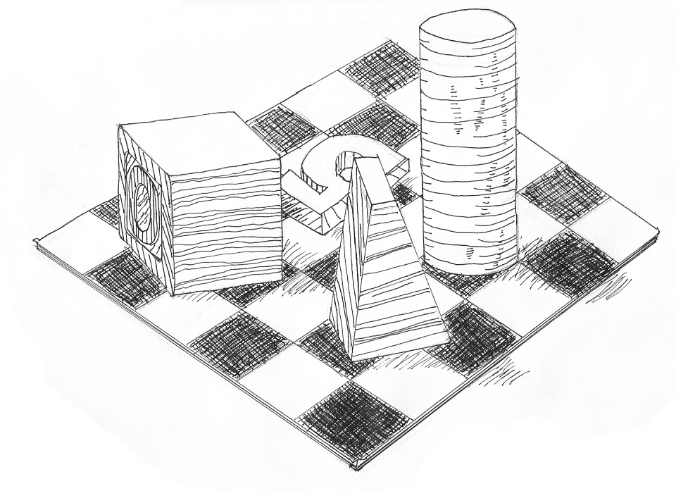 Ian's Art Blog: Drawing: Pen Drawings