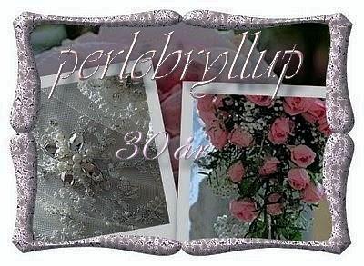 Strik og patchwork: Bryllupsdag