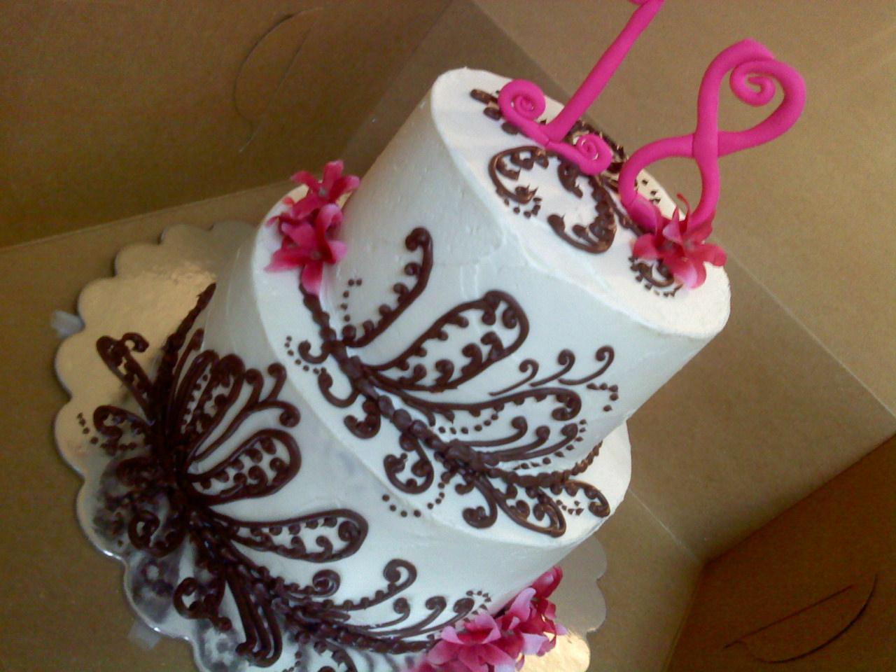 Girls 18th Birthday Cake Ideas And Designs