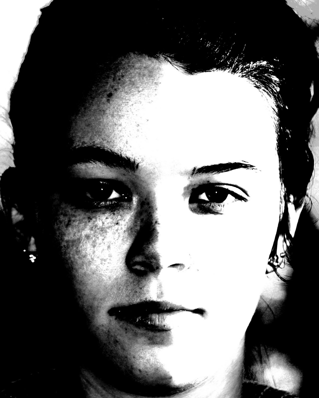 Portraits; High Contrast