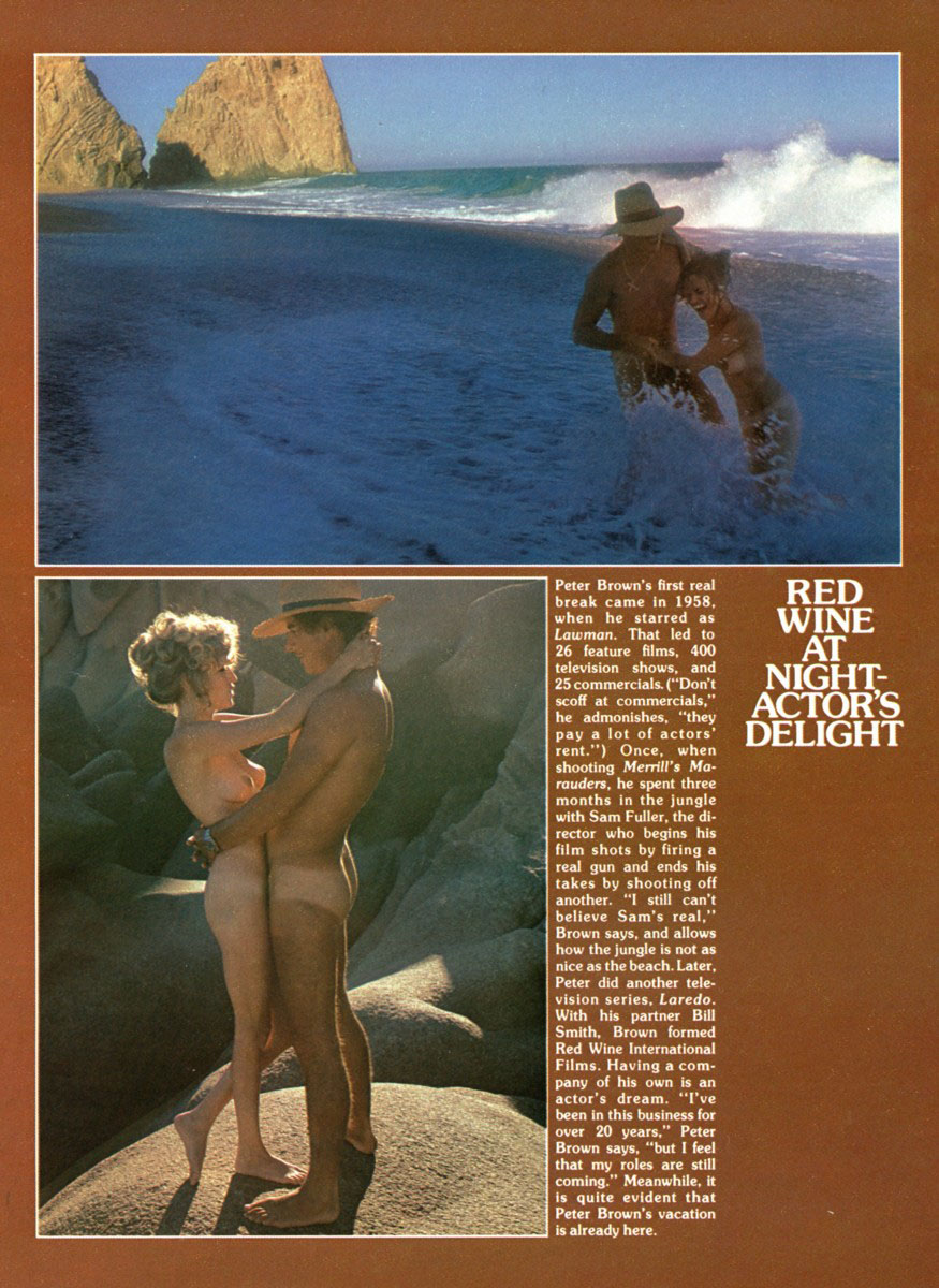 For explanation. peter brown nude exact
